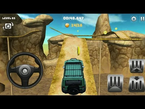 Mountain Climb 4x4 Levels 56 To 63 #Car Games 1 #Free Car Racing Games To Play #Games For Kids