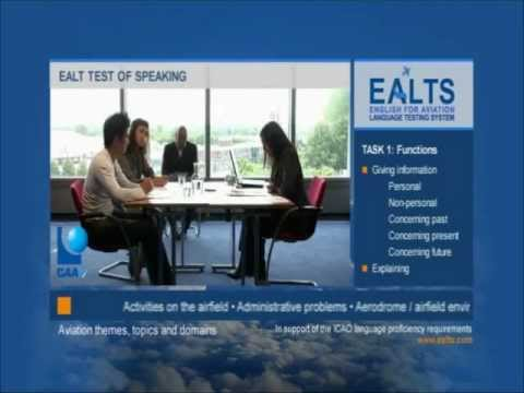 Aviation english testing