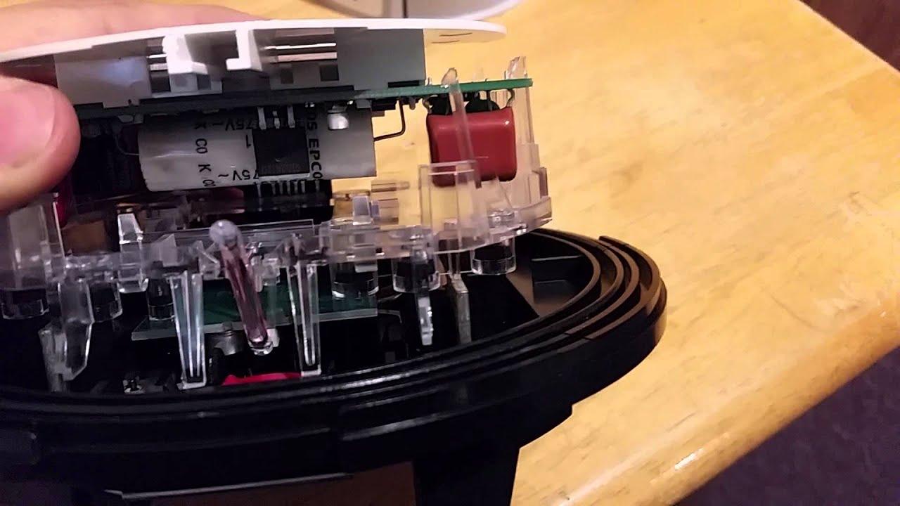 centron itron c1s electric meter teardown