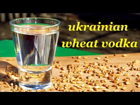 Ukrainian wheat vodka recipe