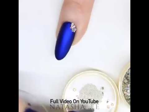 top and down nail decoration