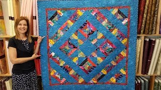 It's a Mirage Quilt! | Who Can See the Blue Star??