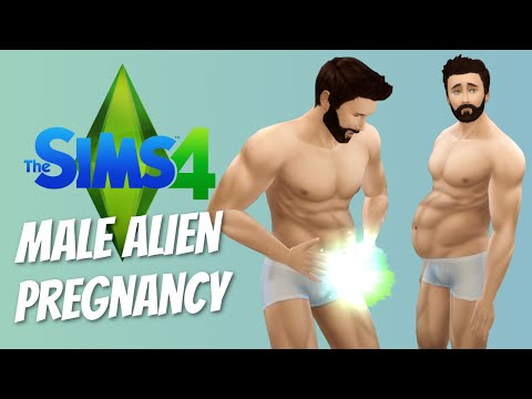 MALE ALIEN PREGNANCY - The Sims 4 Funny Highlights #23