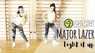 Major Lazer - Light it up / Zumba® Fitness Choreo / Antonia with Melina