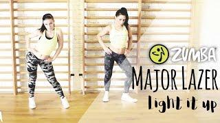 Major Lazer - Light it up / Zumba® Fitness Choreo / Antonia with Melina