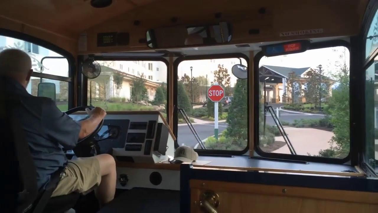 Dollywood' Dreammore Resort Trolley Ride