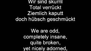 Eisbrecher-Willkommen im Nichts German Lyrics+Translation