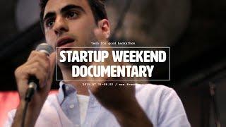 Startup Weekend hackathon full documentary film