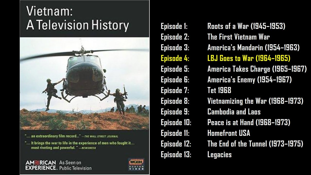 Download Vietnam: A Television History(1983) – Ep 4/13: LBJ Goes to War (1964–1965)