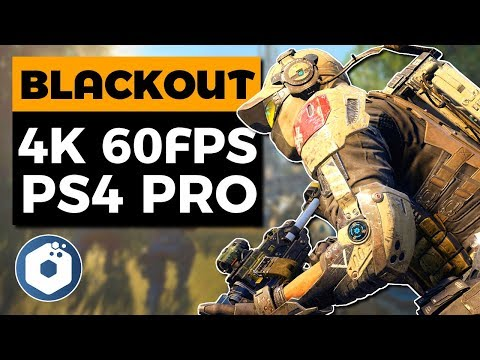 Blackout Battle Royal Beta - 4K 60fps Gameplay | PS4 Pro Enhanced Graphics & Resolution