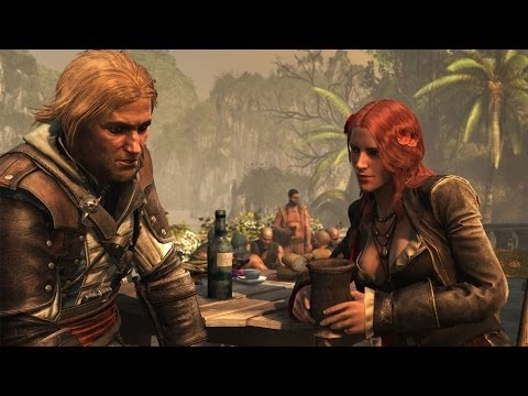 Assassins Creed 4 Black Flag  Parting Glass Ending Song
