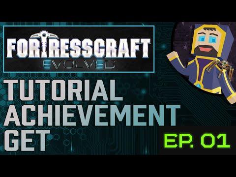 FortressCraft: Evolved Survival - Episode 1 - Tutorial Achievement Get