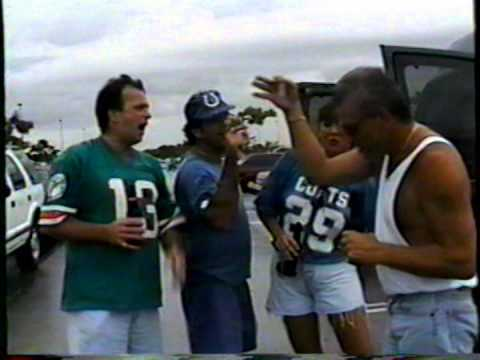 Tailgate Party Dolphin Colts 97