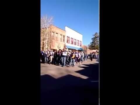 Bayfield High School Football Team - State Championship Parade