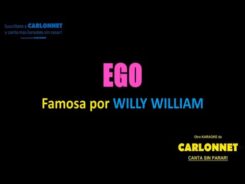 Ego - Willy William (Karaoke)