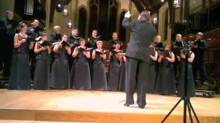 O MAGNUM MYSTERIUM by Ivo Antognini - Vancouver Chamber Choir