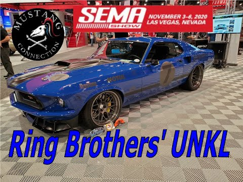 Ring Brothers 1969 Mustang Mach 1 UNKL @SEMA 2019 Boss 429 Kaase Full interview with Mike Ring
