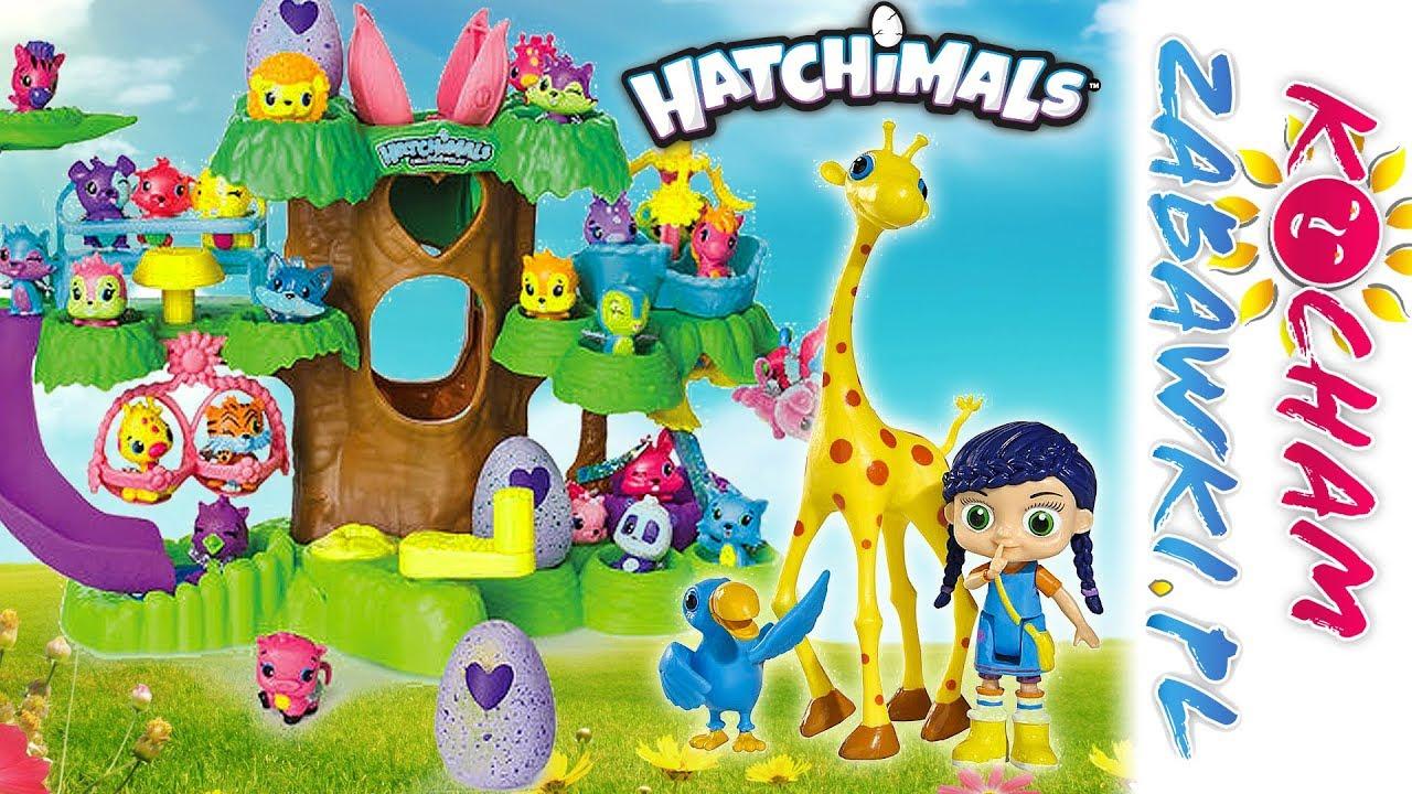 Wissper • Pomoc żyrafie • Hatchimals • Bajki po polsku