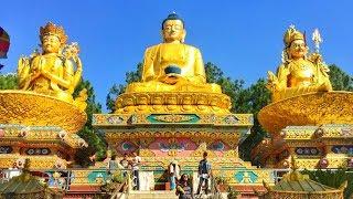 Biggest Buddha Statue in Nepal    Amideva Buddha Park