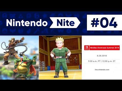 Smash Ultimate Info, Pokémon Let's Go + Nindies Showcase! - Nintendo Nite Podcast Episode #04