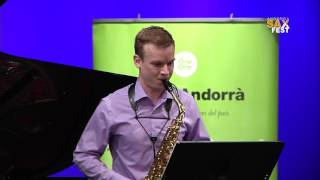 ANDREAS MADER – 2nd ROUND – III ANDORRA INTERNATIONAL SAXOPHONE COMPETITION 2016