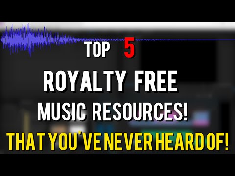 Top 5 Underrated Royalty Free Music Resources That You Have NEVER HEARD OF! 2015 | Brand New Music!