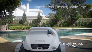 Dolphin Active 20 Robotic Pool Cleaner by Maytronics