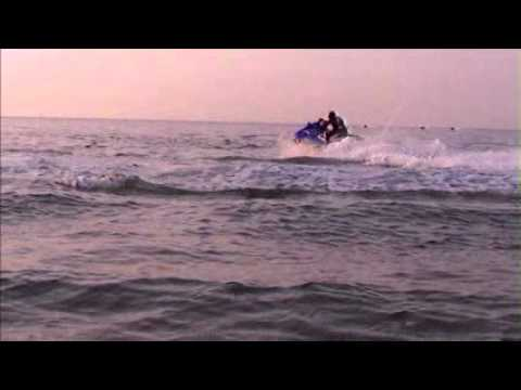 Jet Ski at Qurum Beach   Muscat