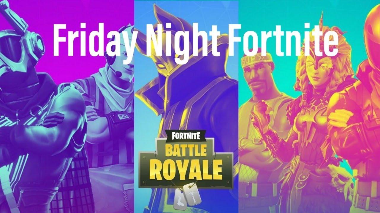 Friday Night Fortnite Tournament 1 August 16 7 Pm Est