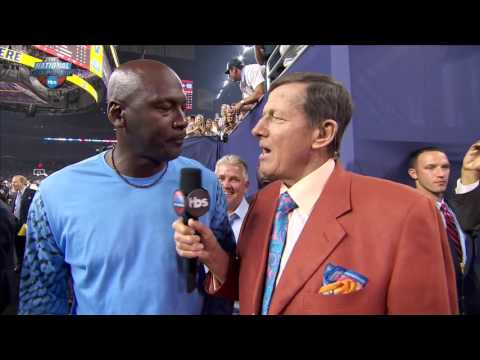 2016 National Championship: Michael Jordan interview