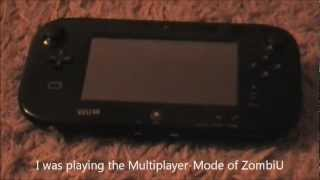 Broken WiiU: RED LIGHT OF DEATH ! [WiiU Problem]
