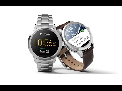 45a5b1c8 Review CNN: Fossil Q, moda y tecnología en un smartwatch - YouTube