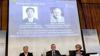 فوز ياباني وكندي بجائزة نوبل للفيزياء لعام 2015    6-10-2015