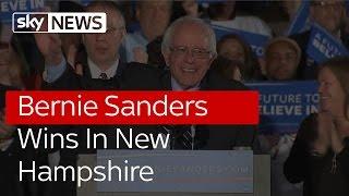 Bernie Sanders Wins In New Hampshire