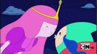 Adventure Time - Finn and Princess Bubblegum Kissing HD