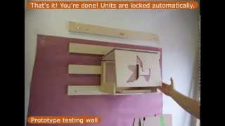 Modular Cat Wall Shelves From Catwalkforkitty