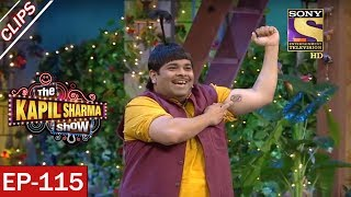 Baccha Yadav's Long Jump - The Kapil Sharma Show - 24th June, 2017