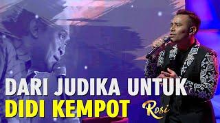 Download lagu Judika Tahan Haru Saat Nyanyikan Banyu Langit Didi Kempot - ROSI