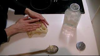 Vegan deeg voor bijvoorbeeld quiche