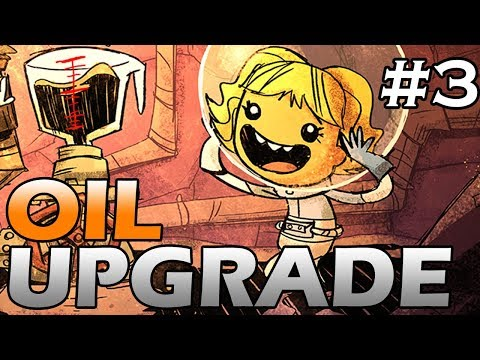 Oxygen Not Included - Oil Upgrade - MEGA STORAGE - Part 3