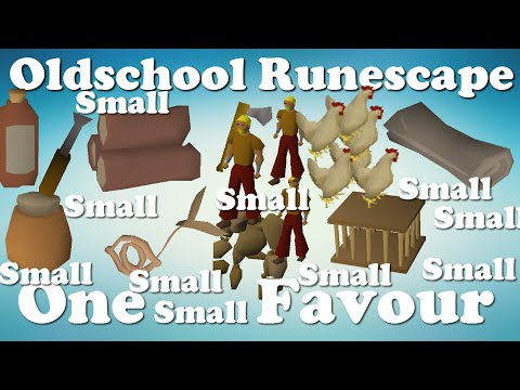 Runescape 2007 One Small Favour FULL Quest Guide
