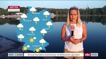 ntv Wettermoderation Außenwetter