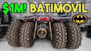 EL AUTO DE BATMAN ORIGINAL EN DUBAI