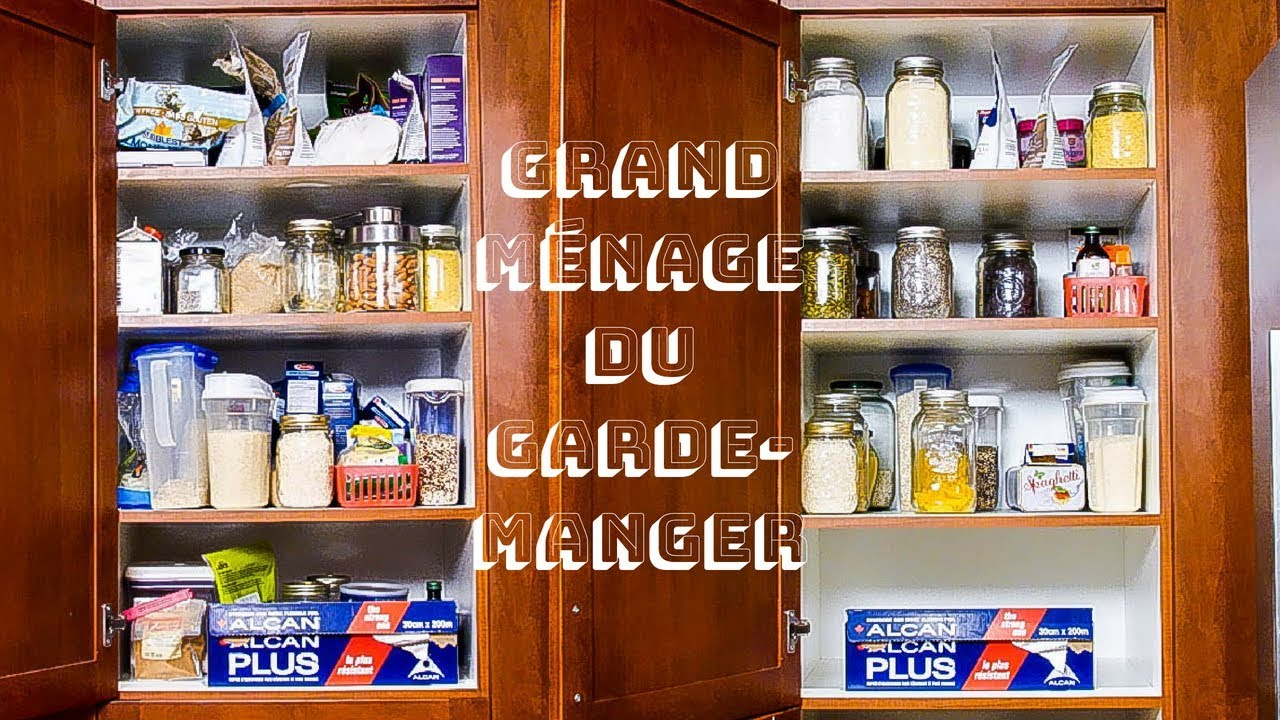 grand menage du garde manger organiser et simplifier