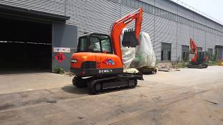 47.5KW Hydraulic Excavator Construction Equipment DC90GOLD Excavator