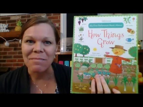 Usborne - My First Reference Book About How Things Grow