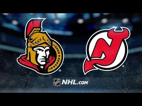 Ottawa Senators Vs. New Jersey Devils | NHL Game Recap | October 27, 2017 | HD