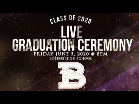 Boerne High School Class of 2020 Graduation Ceremony