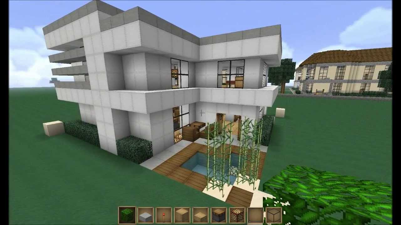 Cool Small Minecraft Houses Small Modern House Minecraft Build