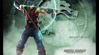 Mortal Kombat 9 - Nightwolf комбо урок